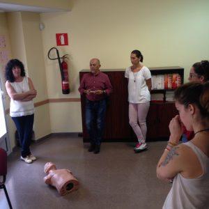 cuidados esperciales edad primeros auxilios Valencia